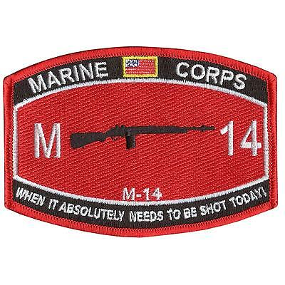 M-14 USMC Marine Corps embroidered semper fidelis military insignia sew on patch