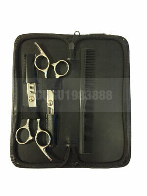 Professional Hair Cutting & Thinning Scissors Shears Hairdressing Set with Comb