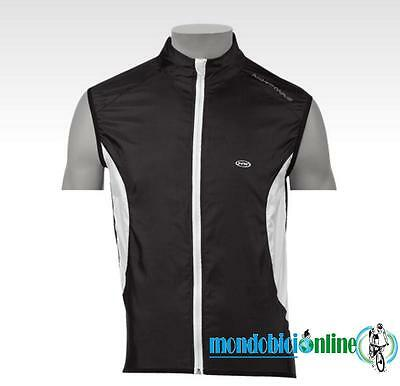 Smanicato antivento NORTHWAVE NORTH WIND vest antivento bici nero