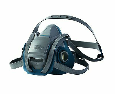 3M 6501QL Quick Latch Half Facepiece Reusable Respirator Mask Small