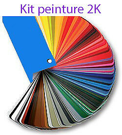 Kit peinture 2K 1l5 RAL 1032 GINSTERGELB  CONTAINS NO LEAD /