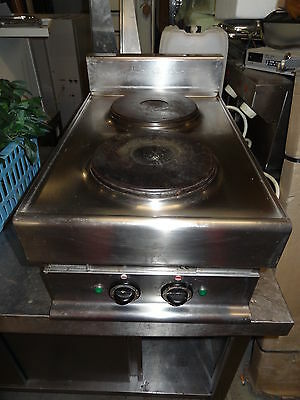 Ambach electric cooker with 2 plates 15.7 x 25.6 x 11 in