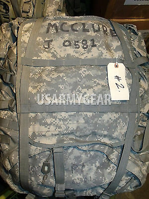US ARMY MOLLE II SDS ACU RUCKSACK digital BACK PACK,field,frame USGI