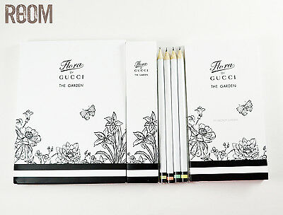 Gucci flora by Gucci the garden pencils and note book set