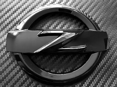 370Z Front High Gloss Black Z Logo Emblem Badge 370 Z Fairlady Bodykit Kit