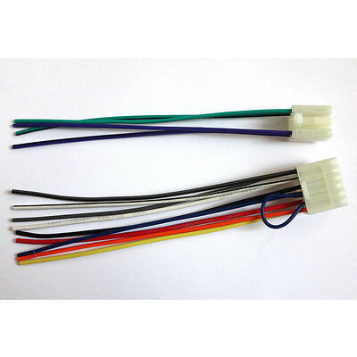 Radio Reverse Male Wire Wiring Harness Toyota 4Runner Yaris Avalon Venza