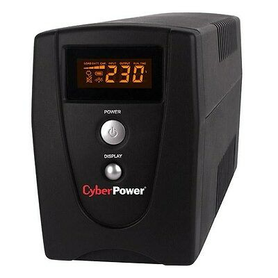 CyberPower Value 600VA UPS LCD USB PowerPanel Personal Edition Software