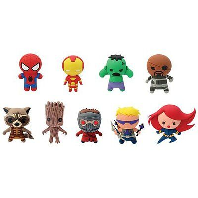 Marvel Foam Keyring - Blind Bagged - Series 1 - 3D Keychain