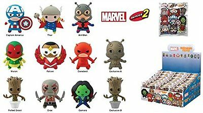 Marvel Foam Keyring - Blind Bagged - Series 2 - 3D Keychain