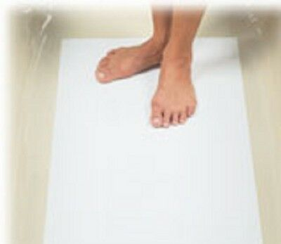 500 x QUALITY PAPER DISPOSABLE SHOWER/BATH MATS