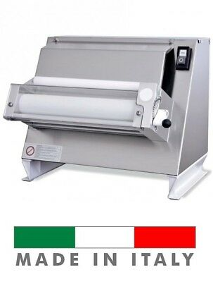 "Starpizza One Pass Pizza Dough Single Roller Sheeter , 16"" Rolling Machine 110V"