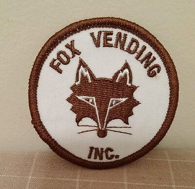 Vintage Fox Vending Inc.  Embroidered Patch Company Logo