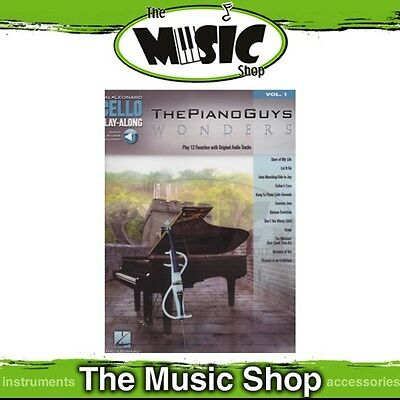 New The Piano Guys: Wonders Cello Play Along Music Book & OLA - Volume 1