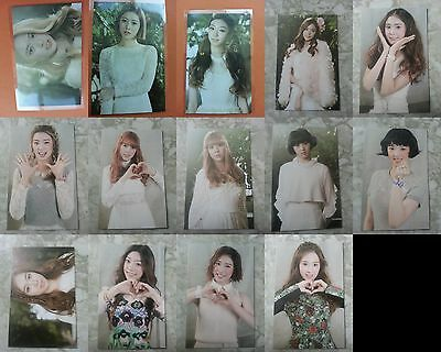 SONAMOO 14 pcs All Member Deja Vu Official Photo Card Photocard 1st Mini Album