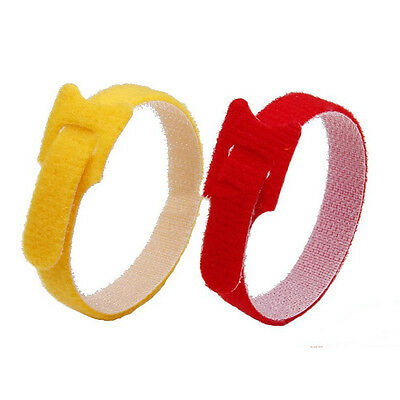 5pcs Nylon String Cable Cord Ties Strap Zip Hook Wrap Wire Organizer 12*200mm