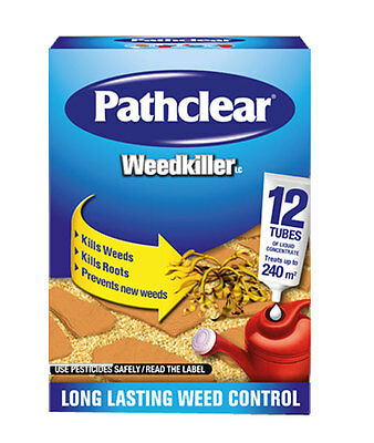 scotts pathclear weedkiller herbicide roots prenter LC 12 tubes 240m2 MAPP 14143