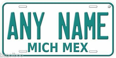 Michoacan 1992 Mexico Any Name Novelty Car License Plate