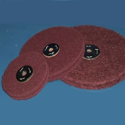 Non Woven General Purpose Abrasive Polishing Wheel - 2 layer - Diameter Choice