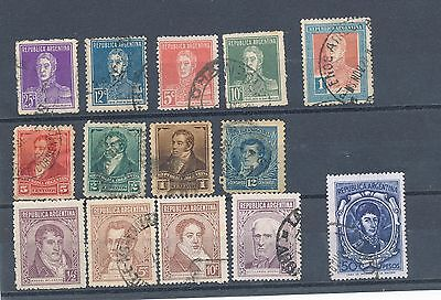 timbres anciens d' Argentine lot  N° 1