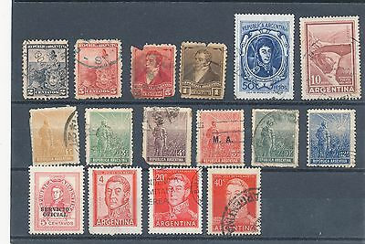 timbres anciens d' Argentine lot  N° 2
