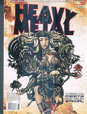 Heavy Metal Magazine #275 Cyberpunk Meets Magic Realism Special Issue 2015