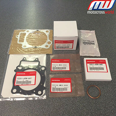 BRAND NEW in the box complete Genuine OEM Honda Piston Kit for CRF250R 2012-2013