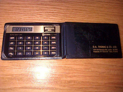 Vintage Retro SYSTEMA LC 10D 8 DIGIT BATTERY Calculator VERY RARE