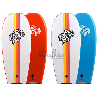 48in (4ft) XPE Slick Mini Surfboard Bodyboard Beater Funboard Two Bare Feet