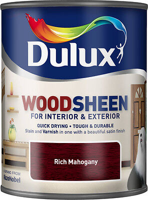 Dulux Woodsheen 750ml Rich Mahogany