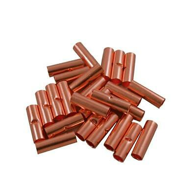 The Install Bay by Metra CUR4 Copper Uninsulated 4 Gauge Butt Connector (25/pk)