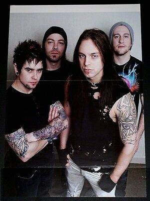 Bullet For My Valentine Group Band Tribute Poster Import