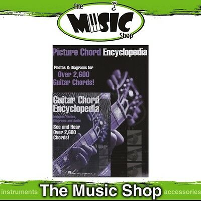 New Guitar Chord Encyclopedia Value Pack with Music Tuition Book & DVD