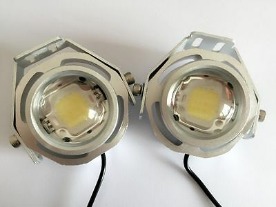 2X 20W Cree Led Work Light Spot Offroad Fog Jeep Motorcycle 4Wd Suv Atv Silver