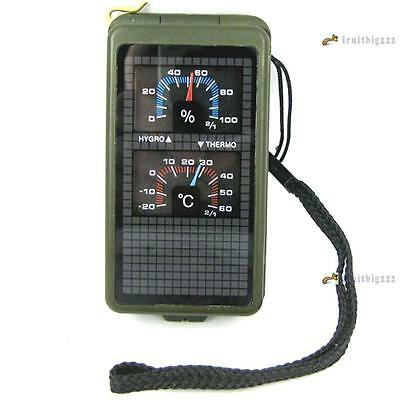 10 in 1 Multifunction Outdoor Survival Military Camp Hiking Compass Tool Set FB