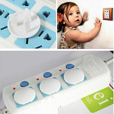 30 x Baby Child Safety Power Board Socket Outlet Point Plug Protective Covers