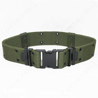 Olive Green LC2 Pistol BELT US Military ALICE LC-2 Webbing Army - All Sizes