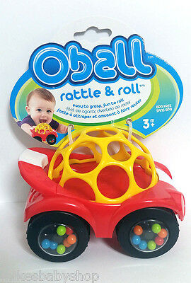 Oball Rattle & Roll, Red