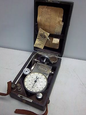 The Foxboro Com. Dr. Horn's System Tachometer 50-200 W/ Case