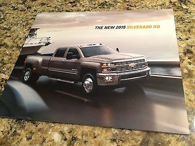 2015 Chevy Silverado HD 38-page Original Sales Brochure