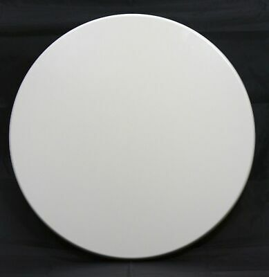 New Restaurant Cafe Outdoor Isotop Table Top Dining 60cm Round White