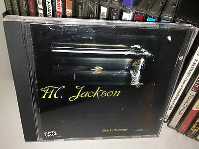 Michael Jackson ‎Live In Bucarest (10-01-1992) Rare CD Printed Italy