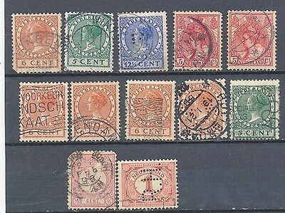 timbres anciens NEDERLAND lot  N° 5