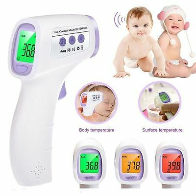 New Baby Adult Non-Contact Digital Infrared Thermometer Forehead IR Thermometer