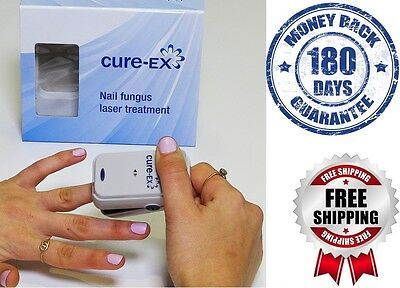 NEW Cure-EX Home Nail Fungus Treatment Laser Device Revolutionary FAST SHIPPING!