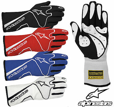 Alpinestars Tech 1 Race Gloves, FIA Approved Glove, Nomex, Oval & Rally Racing