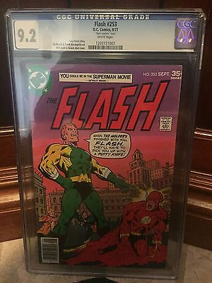 Flash #253 Cgc 9.2 Nm- Buckler Cover Mark Jewelers Insert (Id 5411)