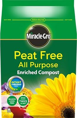 Miracle Gro Organic Choice All Purpose Peat Free Compost 8L