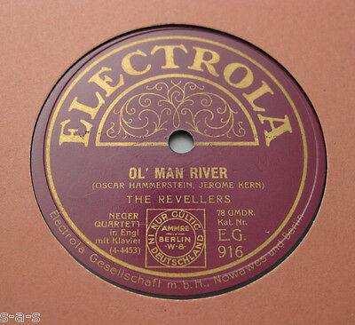 The Revellers - Ol' Man River / Oh Lucindy  (145)