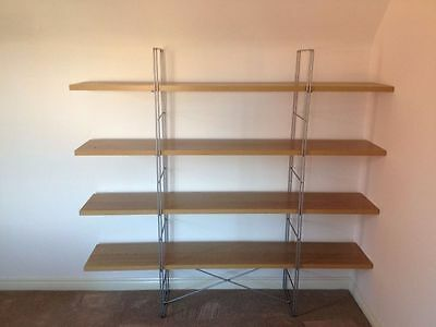 Ikea billy bookcase glass shelves x 28 rrp 9 each for Ikea free standing bookshelves