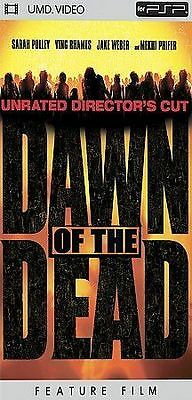 Dawn of the Dead NEW factory sealed UMD Sony PSP movie playstation portable